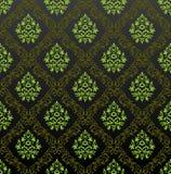 Naadloze bloemen groen van het Behang royalty-vrije illustratie