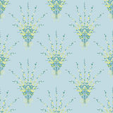 Naadloze bloemen van de patroontextuur textuur als achtergrond Royalty-vrije Stock Fotografie