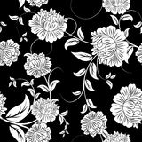 Naadloze bloemenachtergrond Stock Foto