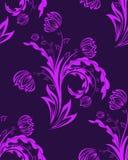 Naadloze bloemenachtergrond Royalty-vrije Stock Foto's
