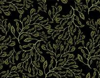Naadloze bloemenachtergrond Stock Foto's