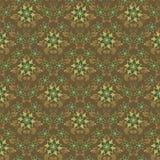 Naadloze bloemenachtergrond Stock Afbeeldingen