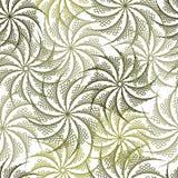 Naadloze bloemenachtergrond in stringartwijze Royalty-vrije Stock Afbeeldingen
