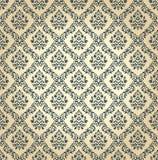 Naadloze bloemenachtergrond Vectorwijnoogst vector illustratie
