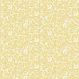 Naadloze bloemenpatroonachtergrond Stock Foto