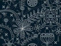 Naadloze bloementextuur Royalty-vrije Stock Afbeeldingen