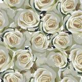 Naadloze bloementextuur Stock Foto's