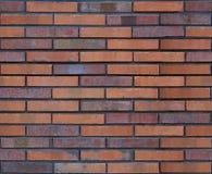 Naadloze bruine van het bakstenen muurpatroon textuur als achtergrond Naadloze bakstenen muurachtergrond Architecturale naadloze  Royalty-vrije Stock Afbeelding