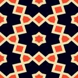 Naadloze caleidoscoop Geometrische patroonachtergrond Royalty-vrije Stock Afbeeldingen
