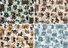 Naadloze camouflage Stock Afbeeldingen