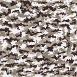 Naadloze camouflage militaire doek van infanterie abstracte achtergrond Vector illustratie Royalty-vrije Stock Fotografie