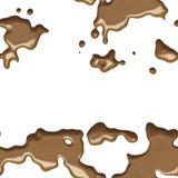 Naadloze chocolade Royalty-vrije Stock Foto