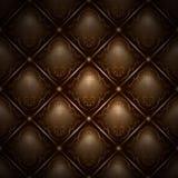 Naadloze chocolade achtergrondChester patroonomslag stock illustratie