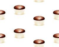 Naadloze chocoladeachtergrond Royalty-vrije Stock Afbeelding