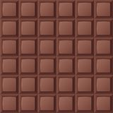 Naadloze chocoladereep Royalty-vrije Stock Foto