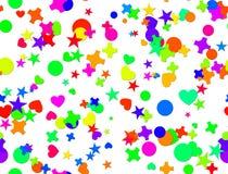 Naadloze confettien Carnaval Royalty-vrije Stock Afbeeldingen