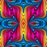 Naadloze 3d kleurrijke abstracte achtergrond vector illustratie