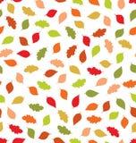 Naadloze de herfst stock illustratie