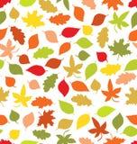 Naadloze de herfst vector illustratie