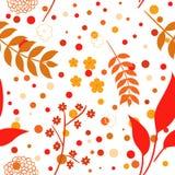 Naadloze de herfstachtergrond Stock Illustratie