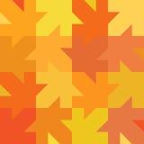 Naadloze de herfsttextuur Stock Afbeelding
