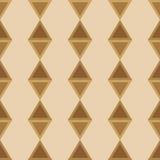 Naadloze de kleurenovergang van ornamentdiamanten Stock Fotografie