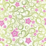 Naadloze de lente bloemenachtergrond vector illustratie