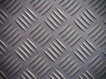Naadloze de plaat van de staaldiamant textuur als achtergrond Stock Afbeelding