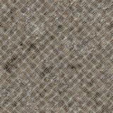 Naadloze de plaattextuur van het diamantstaal. Royalty-vrije Stock Afbeelding