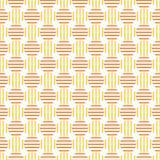 Naadloze de Textuurachtergrond van strepencirkels vector illustratie