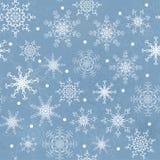 Naadloze de winter Royalty-vrije Stock Afbeeldingen