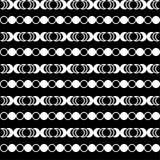 Naadloze decoratieve achtergrond met geometrische vormen Vector Illustratie