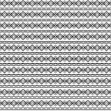 Naadloze decoratieve achtergrond met met zigzaglijnen Stock Illustratie