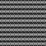Naadloze decoratieve achtergrond met met zigzaglijnen Vector Illustratie