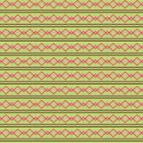 Naadloze decoratieve achtergrond met met zigzaglijnen Royalty-vrije Illustratie
