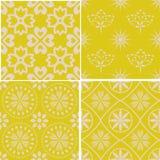 Naadloze decoratieve patronen Royalty-vrije Stock Afbeeldingen