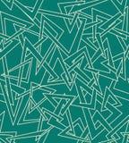 Naadloze driehoekenachtergrond Stock Fotografie