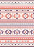 Naadloze etnische patroontexturen Orange&Purplekleuren royalty-vrije illustratie