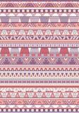Naadloze etnische patroontexturen Orange&Purplekleuren Stock Fotografie