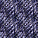 Naadloze fototextuur van blauw denim Stock Afbeeldingen