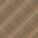 Naadloze fototextuur van de mat van het brownnstro met groen koord Royalty-vrije Stock Afbeeldingen