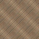 Naadloze fototextuur van de mat van het brownnstro met groen koord Royalty-vrije Stock Fotografie