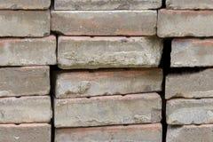 Naadloze fototextuur van stapels concrete panelen stock afbeelding