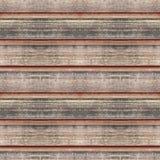 Naadloze fototextuur van warm timmerhout dack Stock Afbeelding