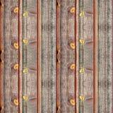 Naadloze fototextuur van warm timmerhout dack Royalty-vrije Stock Afbeelding