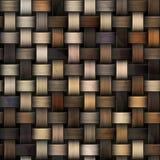 Naadloze gebreide achtergrond van bruine schaduwen stock afbeelding