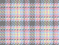 Naadloze gecontroleerde materiële patroon, geruit Schots wollen stof en plaidachtergrond vector illustratie