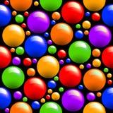 Naadloze gekleurde textuur Stock Afbeelding