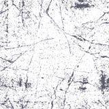 Naadloze gekraste roestige grungetextuur, vectorachtergrond Stock Afbeelding
