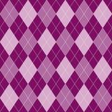 Naadloze geometrische patroon roze en purpere ruiten royalty-vrije illustratie